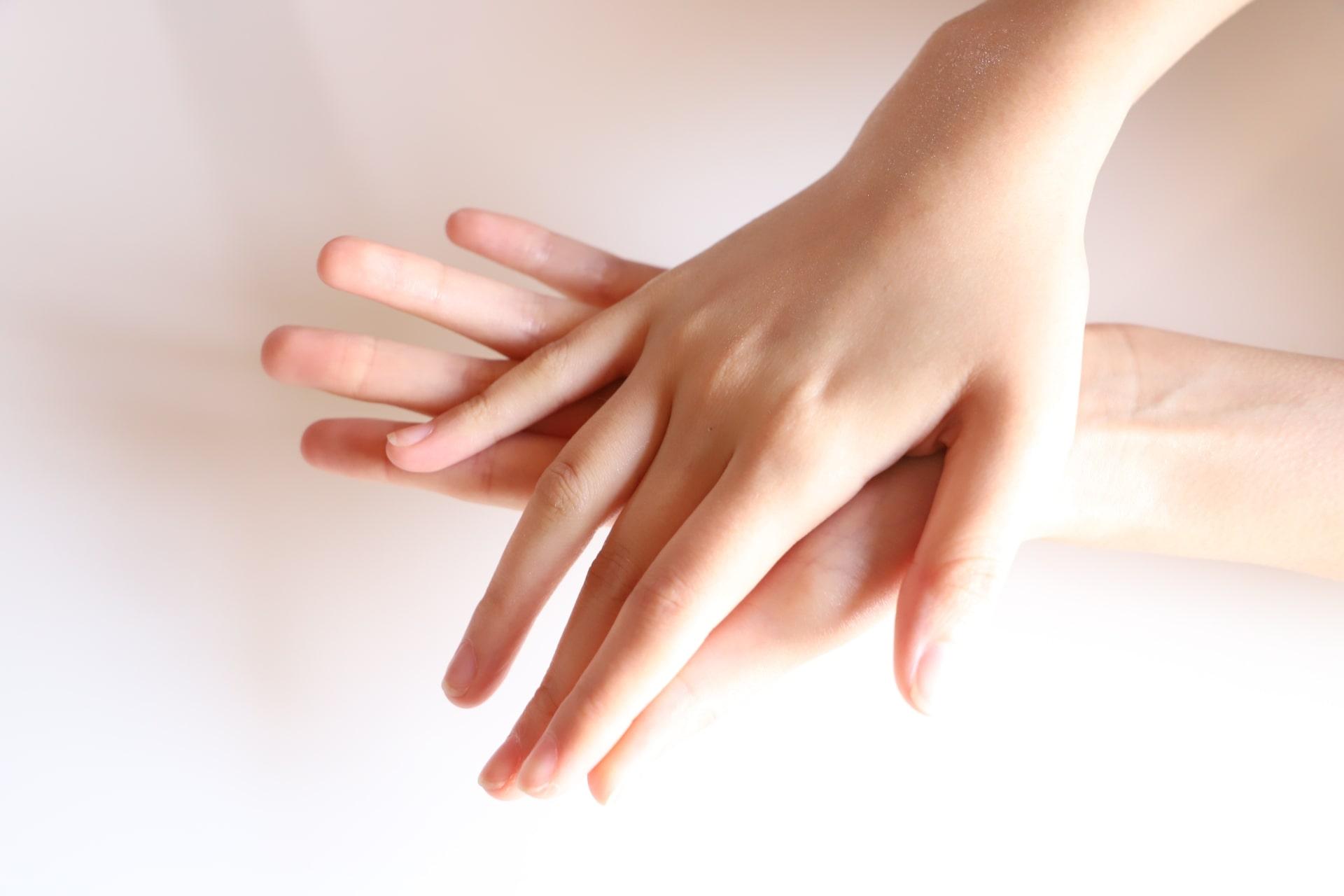 手が綺麗だと感じる時